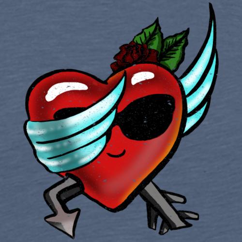Retro Dabbing Heart Valentinstag Geschenk für Ihn