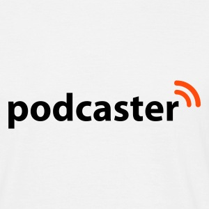 Weiß Podcaster © T-Shirts - T-shirt Homme