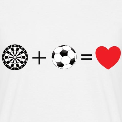Darts + Fußball = Liebe