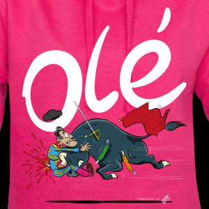 Olé, Stierenvechter met pech (voor donkere shirts)