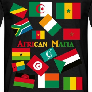 african mafia pays afrique T-shirts - T-shirt Homme