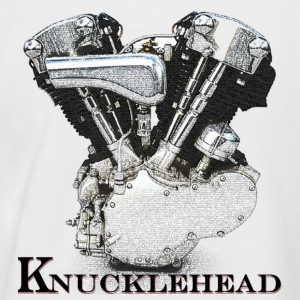 Knucklehead motor - T-shirt baseball manches courtes Homme