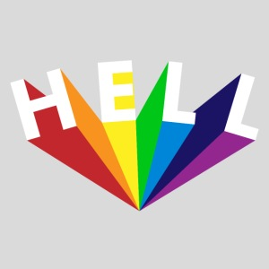 Hell Rainbow Weiß