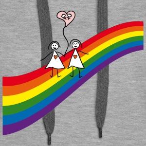 Regenbogen Frauenpaar