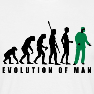 evolution_chirurg_2c T-shirts - Mannen T-shirt