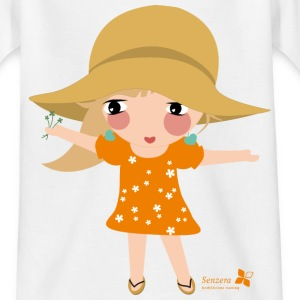 Kinder T-Shirt klassisch Susi Summer - Teenager T-Shirt