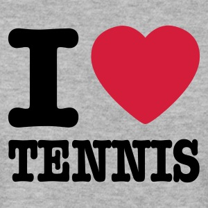 Gris chiné I love tennis BE FR Sweatshirts - Sweat-shirt Homme