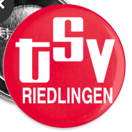 Motiv ~ Anstecker klein 25 mm TSV logo rot