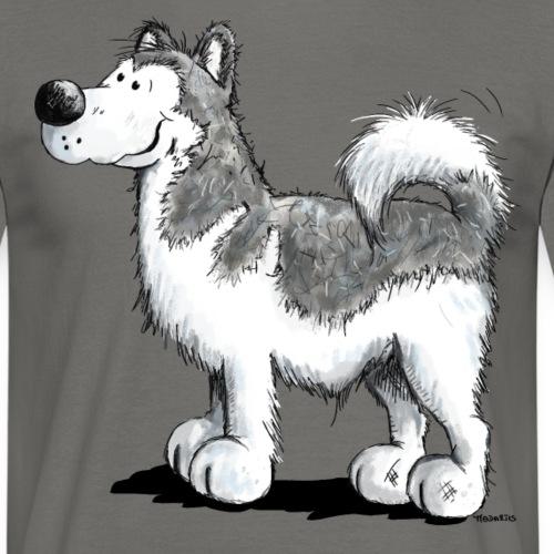 Alakan Malamute - Husky - Hund - Comic