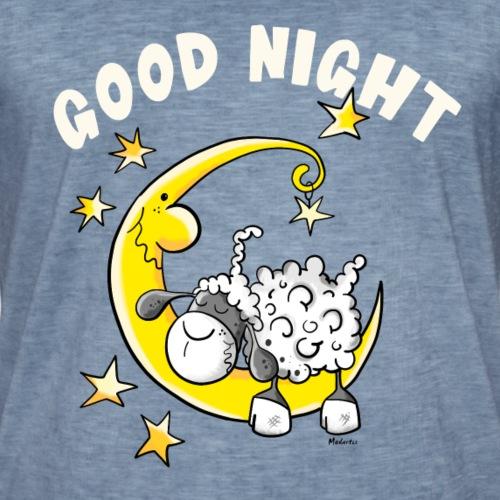 Good Night Schaf Im Mond