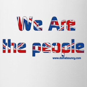 White we are the people Mugs  - Mug