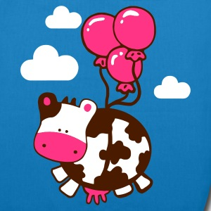 flying cow - EarthPositive Tote Bag