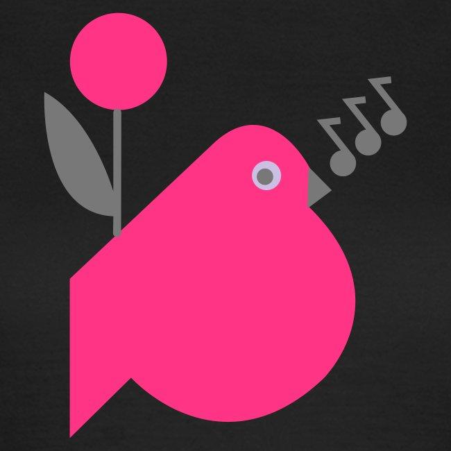 Tweetie bird and flower