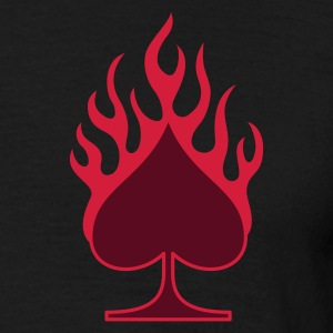 burning_pik_2c T-shirts - T-shirt herr