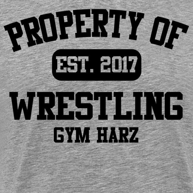 Wrestling Gym Property Shirt