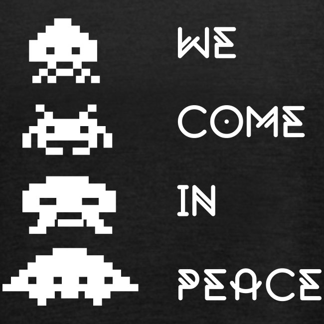 Space Invaders Woman