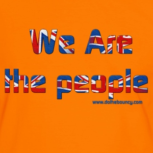 we are the people DTB T shirt - Men's Ringer Shirt