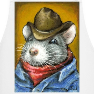Cowboy rat apron - Cooking Apron