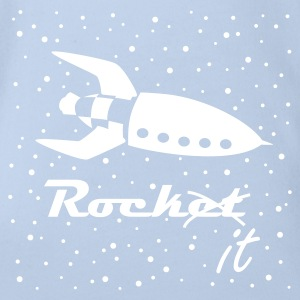RockIT - Rocket no Rock it! Baby Bodys - Baby Bio-Kurzarm-Body
