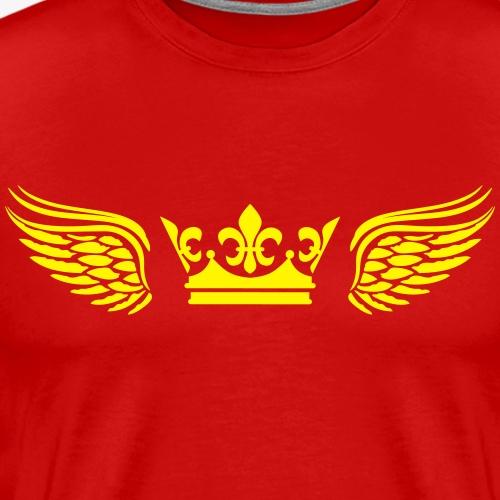 29 Krone Flügel Crown Wings Engelsflügel 1c