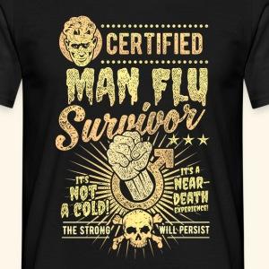 Certified Man Flu Survivor T-Shirt