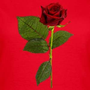 RED ROSE ART - Frauen T-Shirt