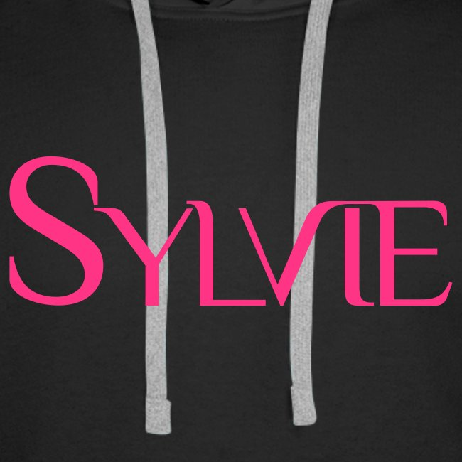 Sweat shirt à capuche Sylvie Live