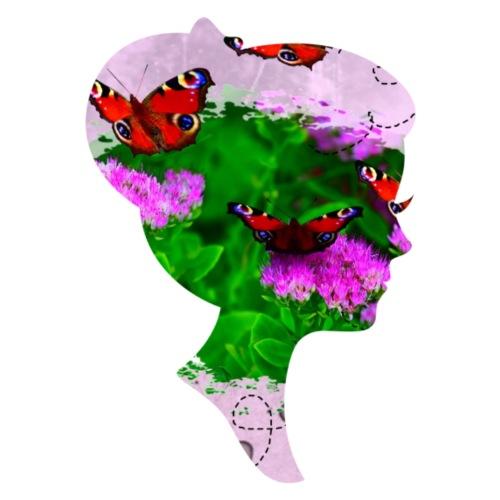Schmetterling-Dame