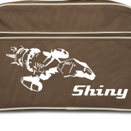 Design ~ Serenity Ship - Shiny Retro