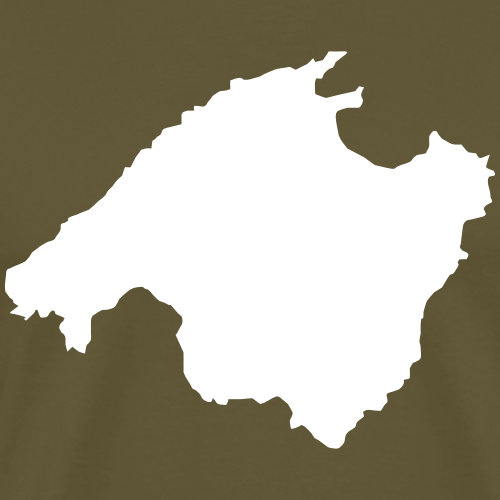 Mallorca Umriss