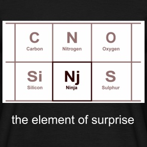 The Element of Surprise - Men's T-Shirt