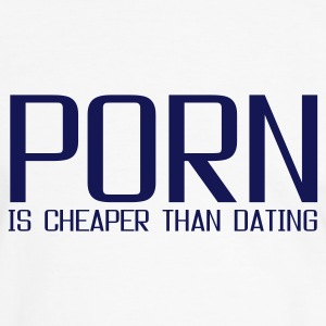 Blanc/marine porn is cheaper than dating T-shirts - T-shirt contraste Homme