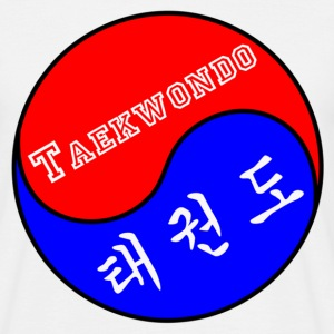 Taekwondo badge - Men's T-Shirt
