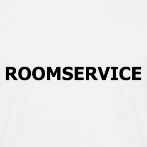 Weiß Roomservice © T-Shirts - Herre-T-shirt