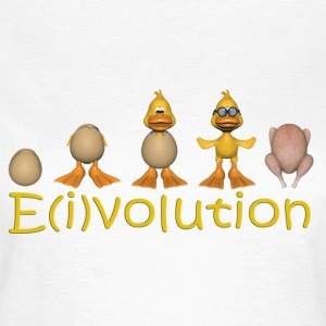 Evolution des Eies - Frauen T-Shirt