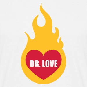 Weiß Dr. Love © T-Shirts - Camiseta hombre