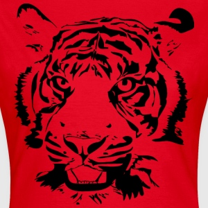 Red Big Tiger Women's T-Shirts - Women's T-Shirt