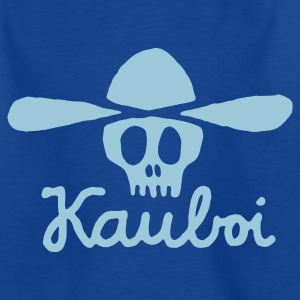 Navy Kauboi Kinder T-Shirts - Teenager T-Shirt