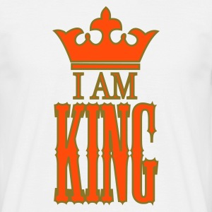King - koninginnedag - Mannen T-shirt