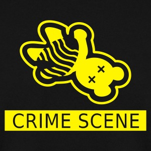 Sort gerningssted teddy / crime scene teddy (1c) Sweatshirts - Herre sweater