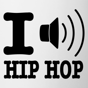 Bianco I love hiphop / I speaker hiphop Tazze - Tazza
