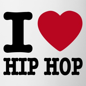 Bianco I love hiphop / I heart hiphop Tazze - Tazza
