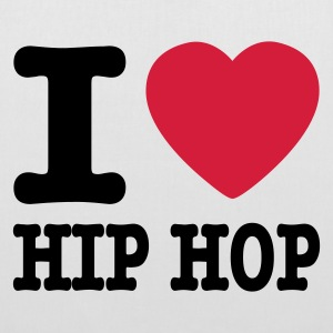 Blanc I love hiphop / I heart hiphop Sacs - Tote Bag
