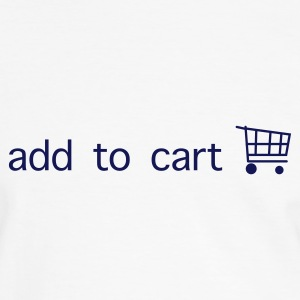 Vit/marinblå add to cart T-shirts - Kontrast-T-shirt herr