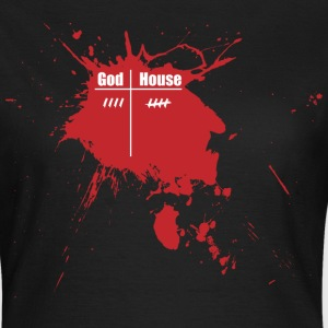 God vs House  - Frauen T-Shirt