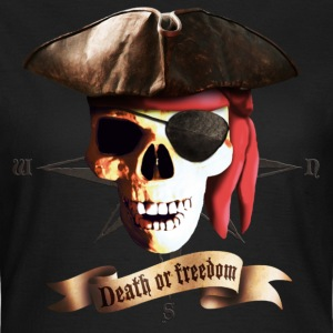 Black dead_pirate_banner Women's T-Shirts - Women's T-Shirt