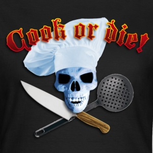 Black cook_or_die_c Women's T-Shirts - Women's T-Shirt