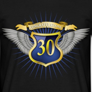 Black jubilee_30 Men's T-Shirts - Men's T-Shirt