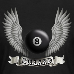 Black billard_wings_b Women's T-Shirts - Women's T-Shirt