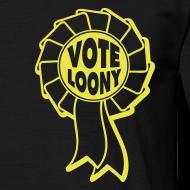Design ~ Vote Loony Rosette - Men's